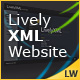 Lively XML Website  - ActiveDen Item for Sale