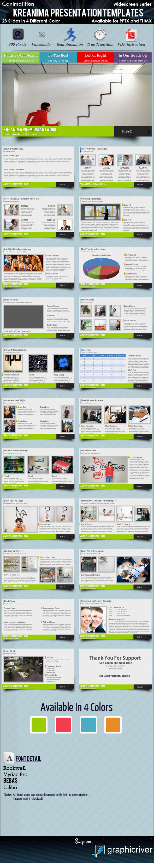 Kreanima Presentation Templates - Creative PowerPoint Templates