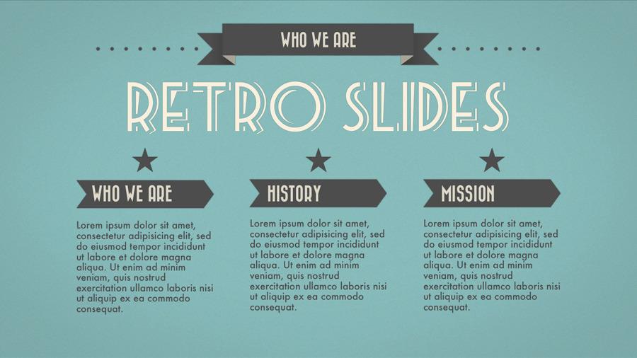 Keynote Slide Template