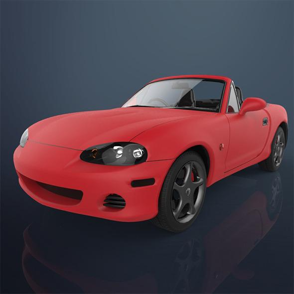 3DOcean Concept car 8790587