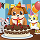 Pets Birthday - GraphicRiver Item for Sale