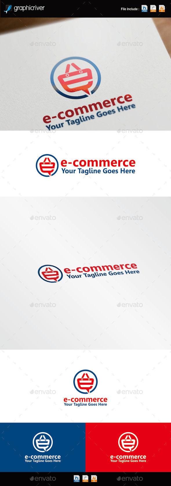 GraphicRiver E-Commerce Logo Template 8790606
