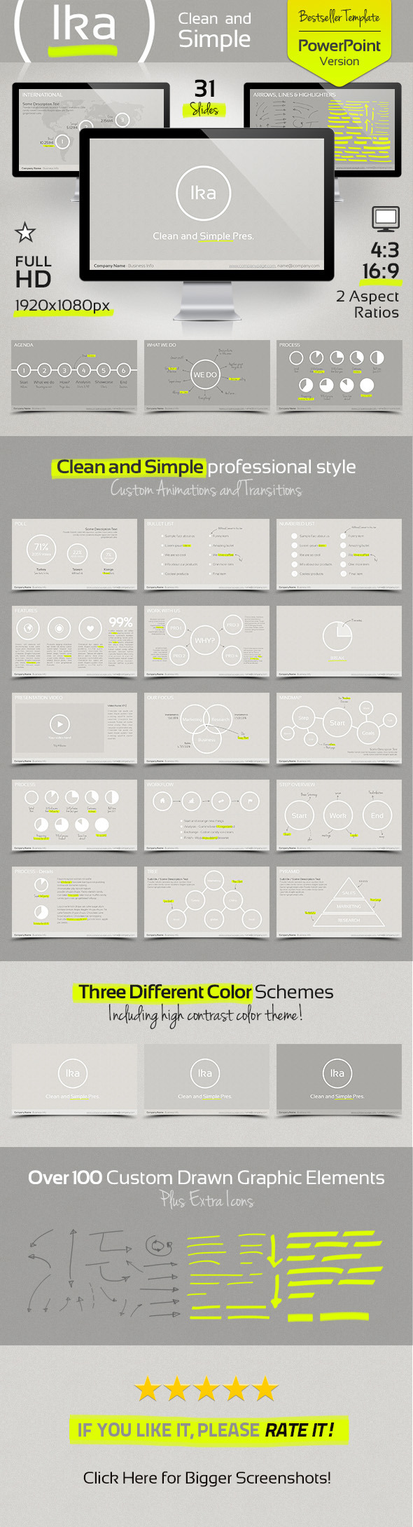 Ika - Clean and Simple Presenation Template - Presentation Templates