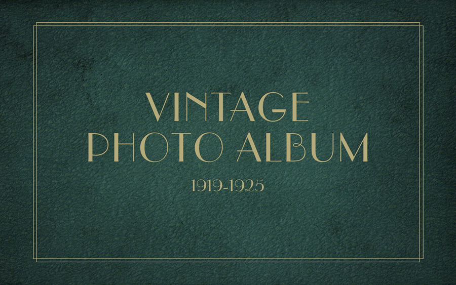 Vintage Photo Album Keynote Template by 83MUNKIS | GraphicRiver