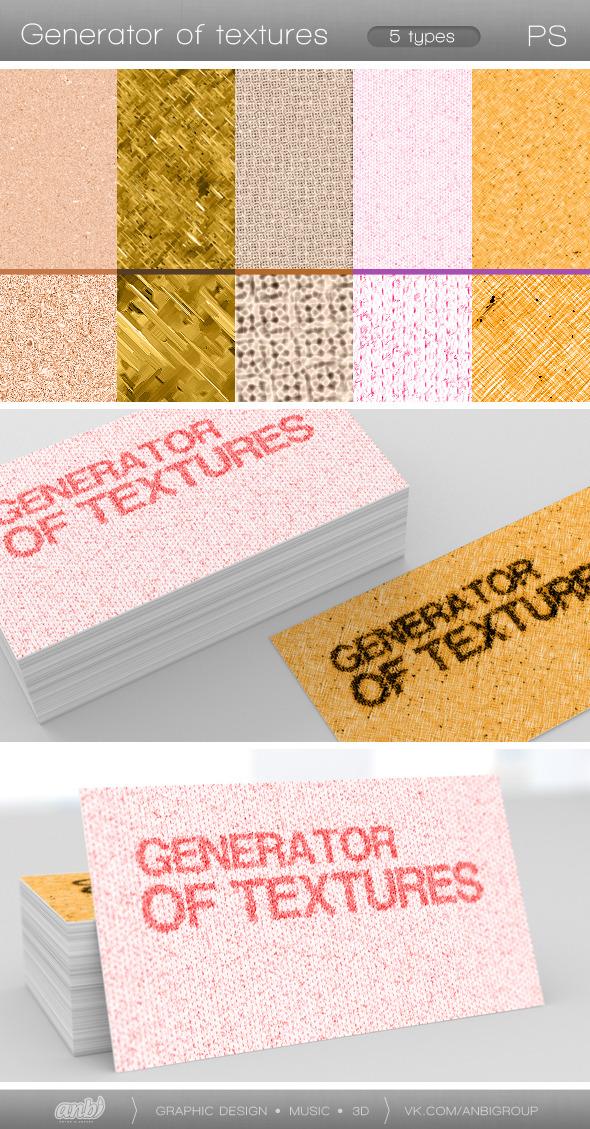 Generator of Textures