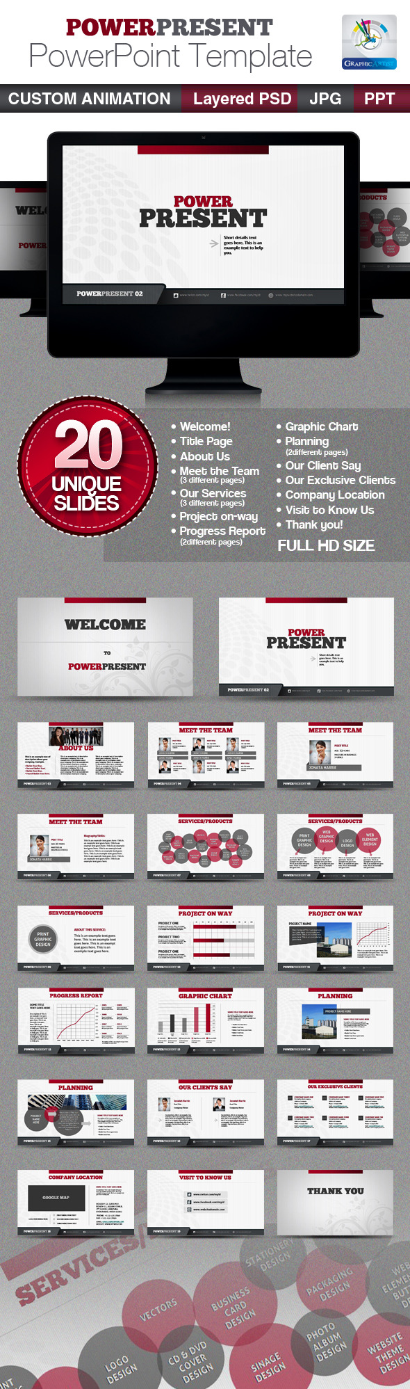 PowerPresent PowerPoint Templates - PowerPoint Templates Presentation Templates