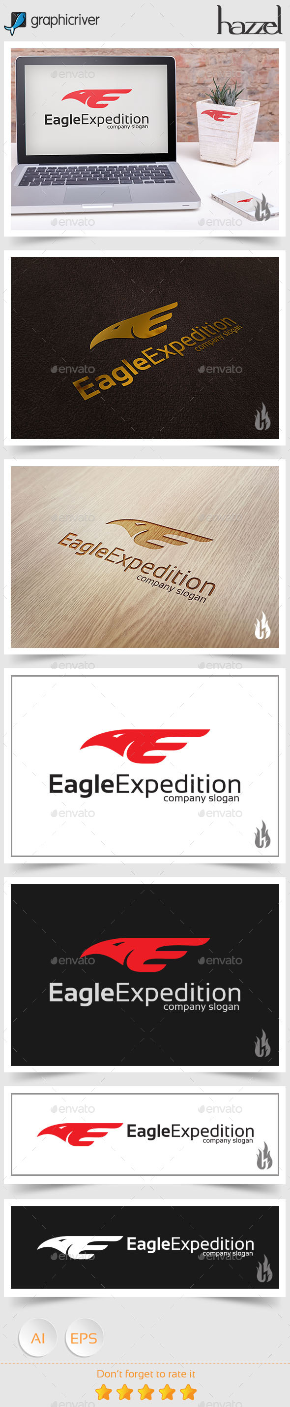 GraphicRiver Eagle Expedition Logo 8790682