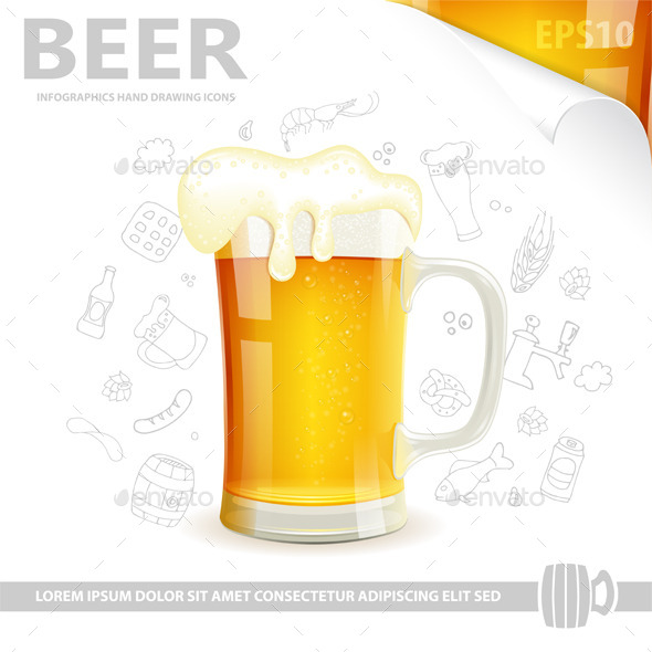 GraphicRiver Beer Poster 8790910