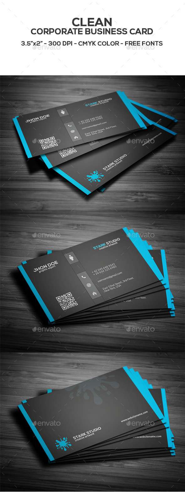 GraphicRiver Corporate Business Card 8791029