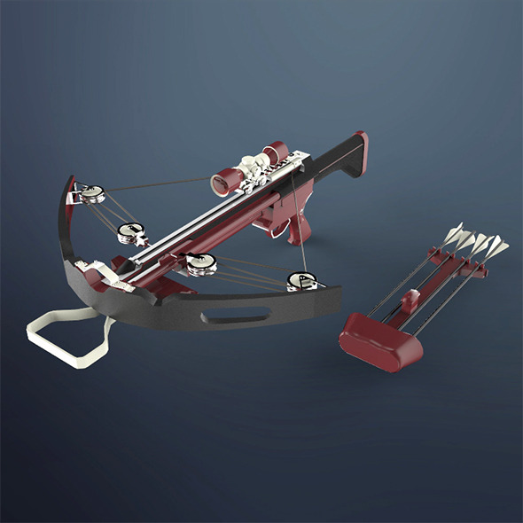 Crossbow - 3DOcean Item for Sale