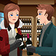 Couple buying Wine - GraphicRiver Item for Sale