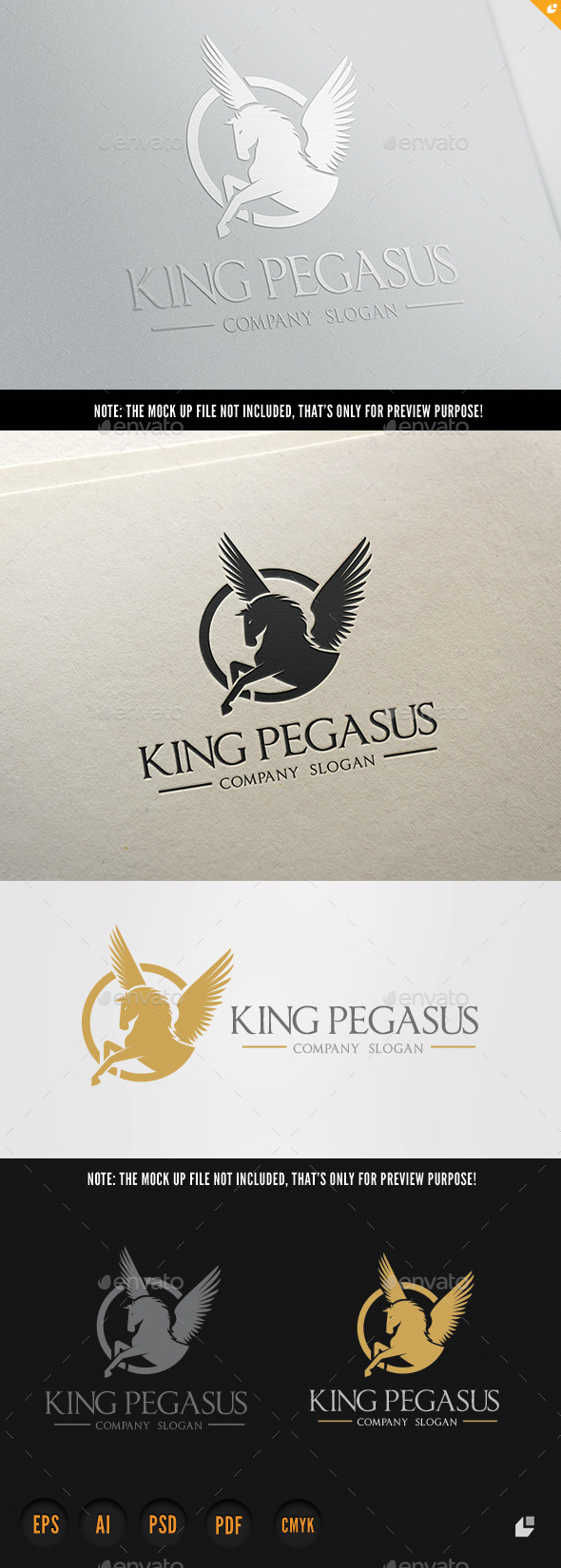 GraphicRiver King Pegasus 8791122
