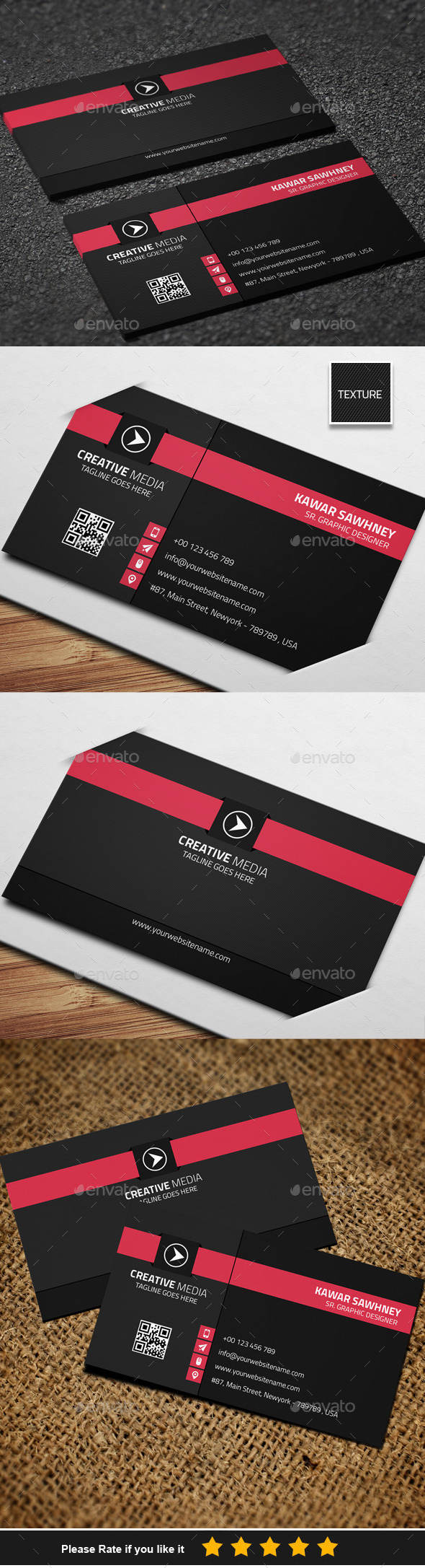 GraphicRiver Corporate Business Card 11 8791168