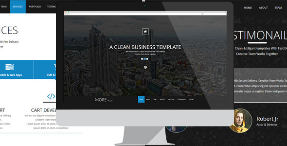 More Plus - Muse Template