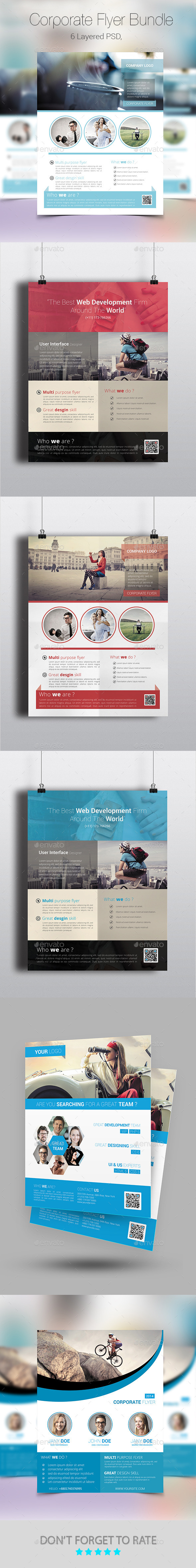 GraphicRiver Corporate Flyer Poster Bundle 8791635