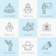 Set of Public Speaking Icons - GraphicRiver Item for Sale