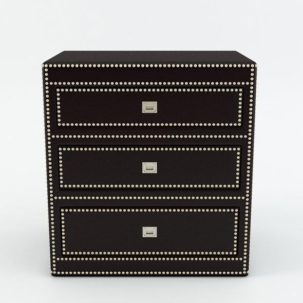 Eichholtz Table Side Flemming - 3DOcean Item for Sale
