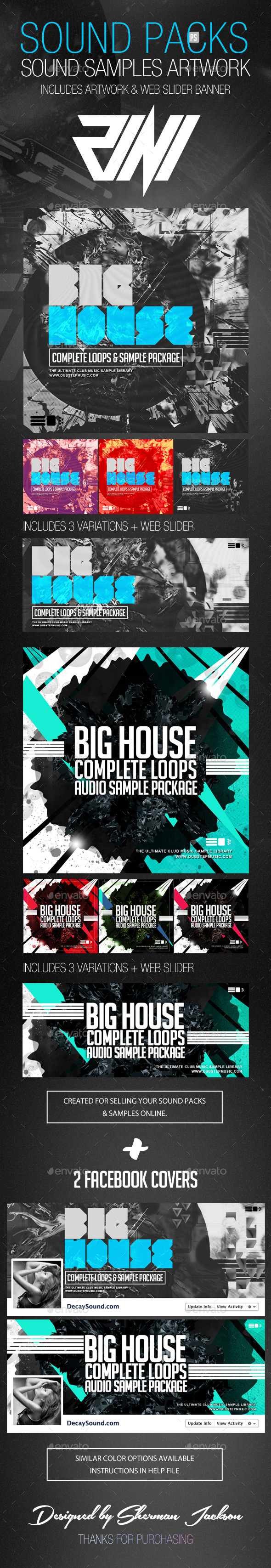 GraphicRiver Sound Packs & Sound Samples Artwork 8792633