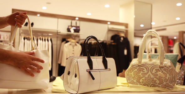 Shopping Woman Bag