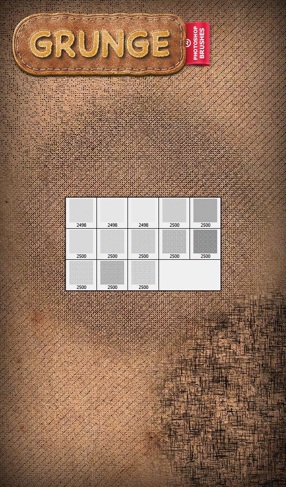 Grunge Brushes - Texture Brushes