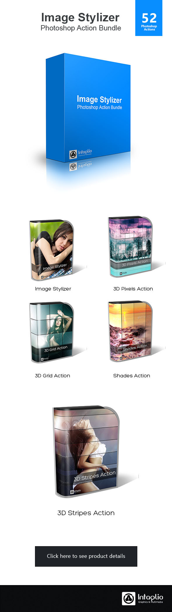 Image Stylizer Photoshop Action Bundle - Actions Photoshop