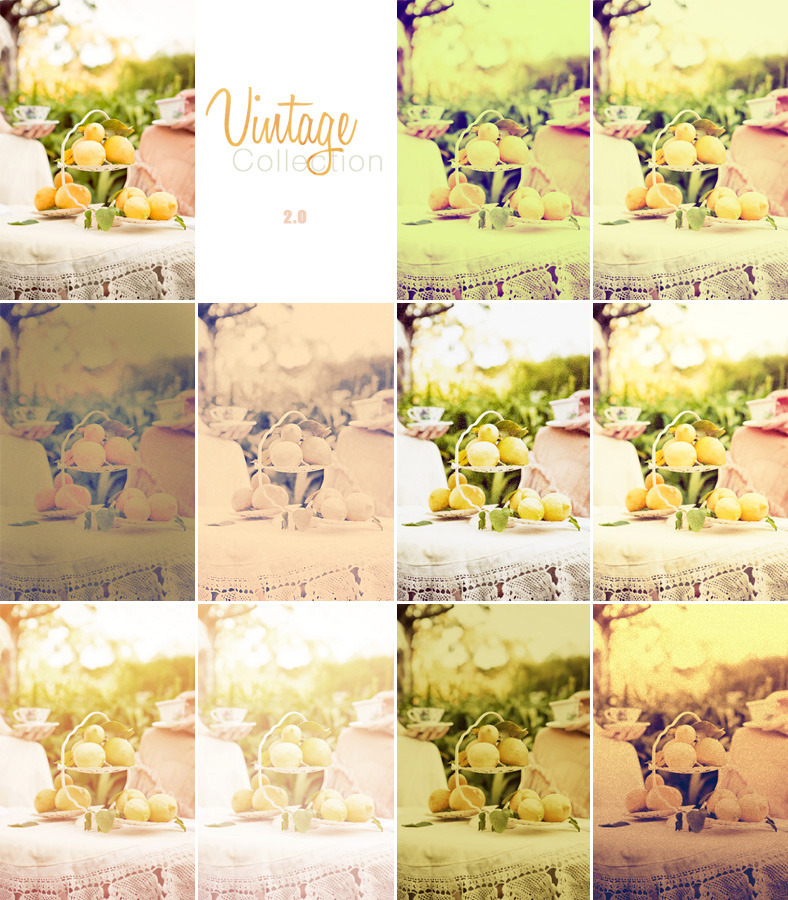 Vintage Pro Collection Photo Effects | Vol 2.0