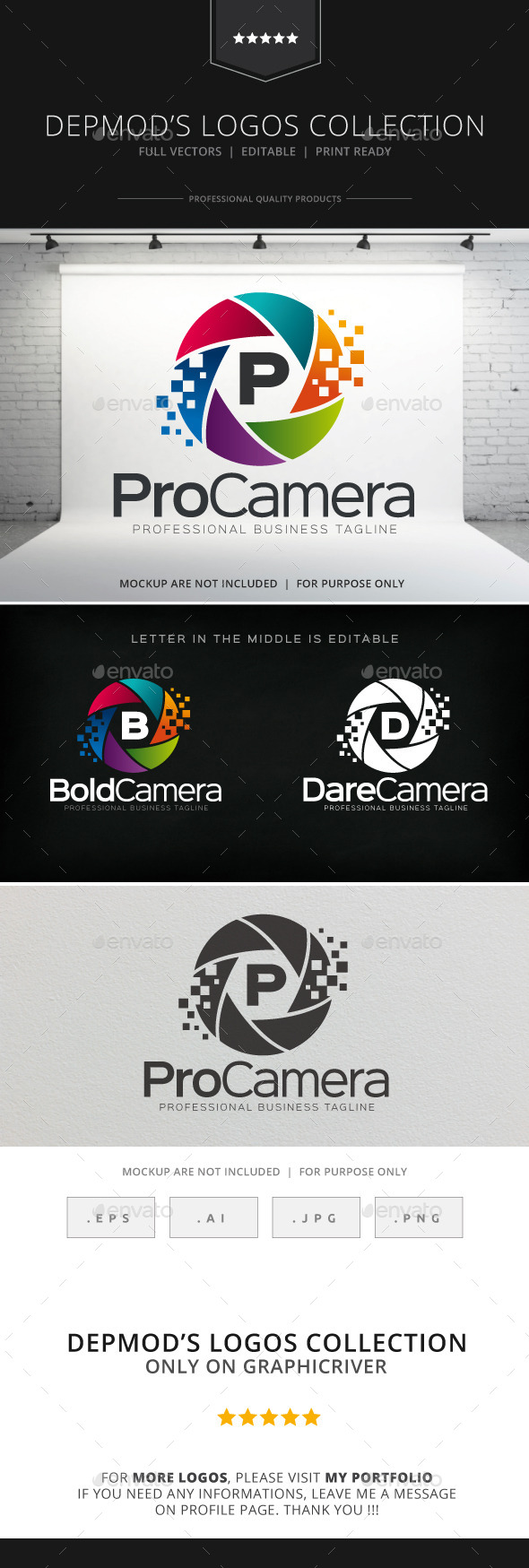 GraphicRiver Pro Camera Logo 8792973