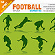 Football Silhouettes - GraphicRiver Item for Sale