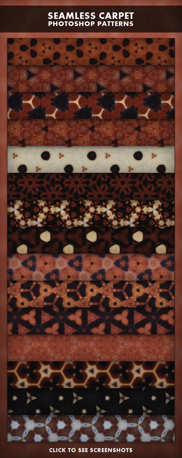 Seamless Carpet - Photoshop Patterns - Textures / Fills / Patterns Photoshop