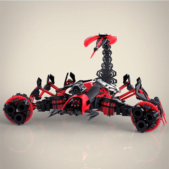3DOcean Robotic Scorpio 8793094