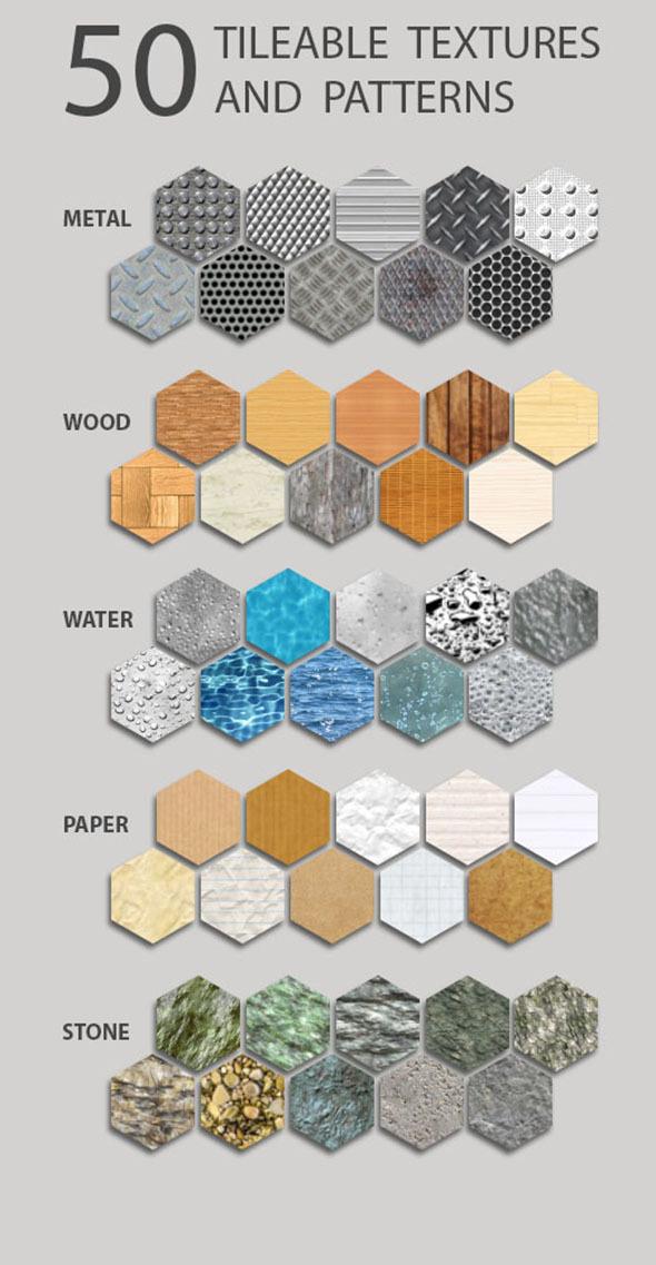 Pattern Tileable Pack V1