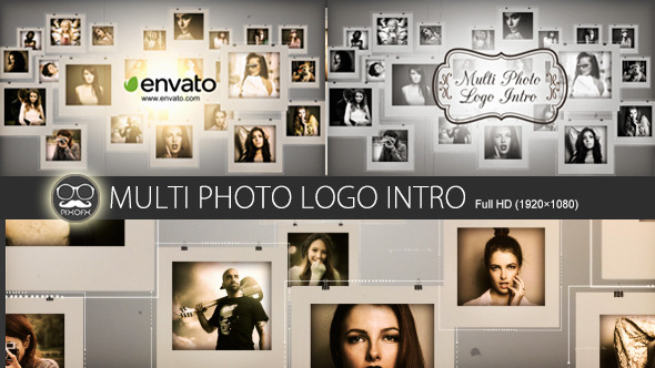 Multi Photo Logo Intro
