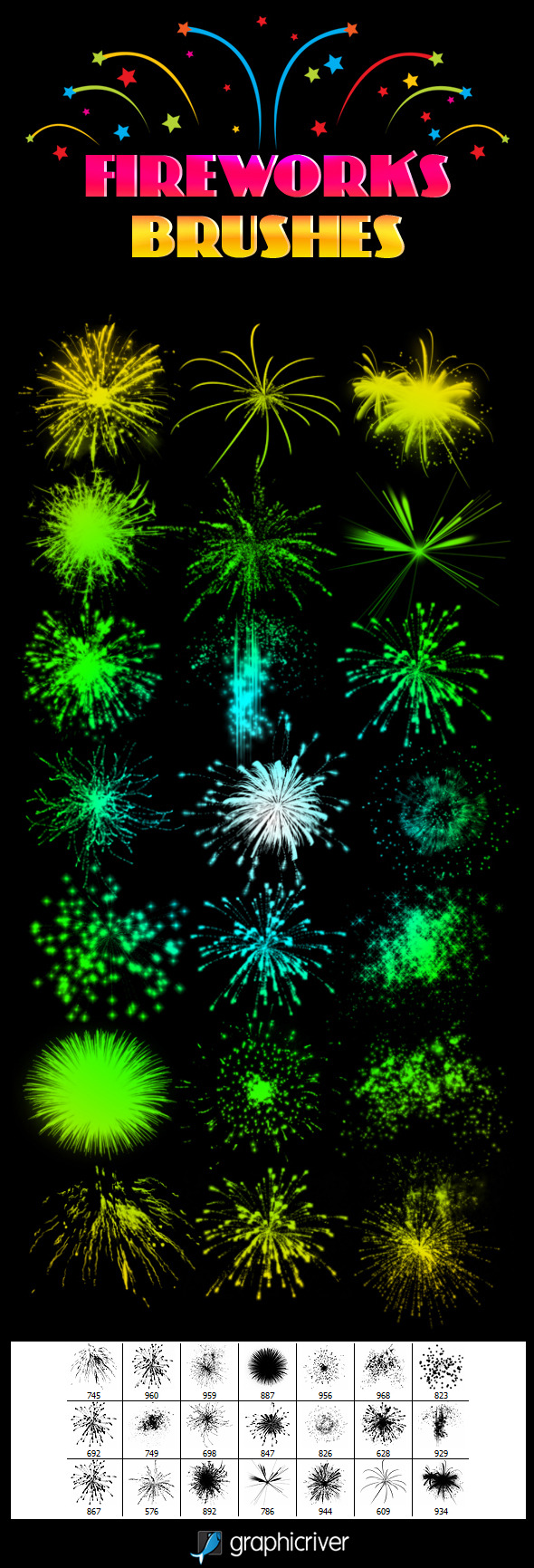 Fireworks Brushes - Miscellaneous Brushes