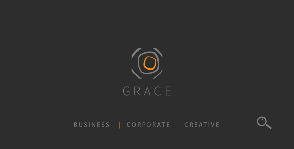 ThemeForest Grace Modern Elegant Clean Single Page Templat 8793206