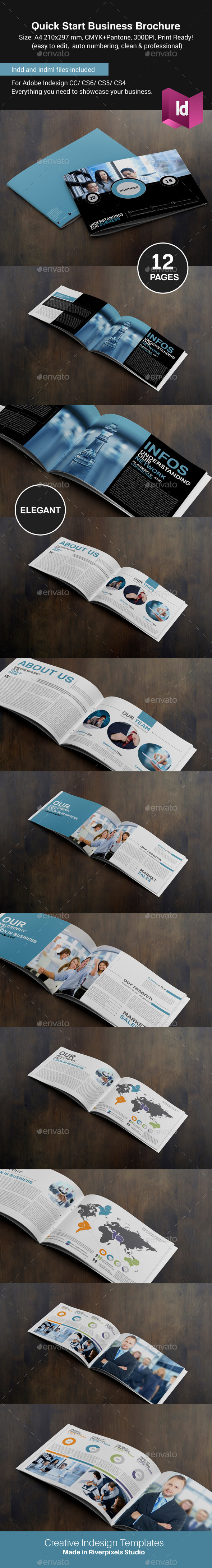 GraphicRiver Quick Start Business Brochure 8793207