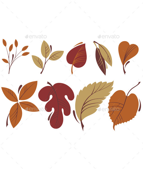 GraphicRiver Autumn Leaves 8793278