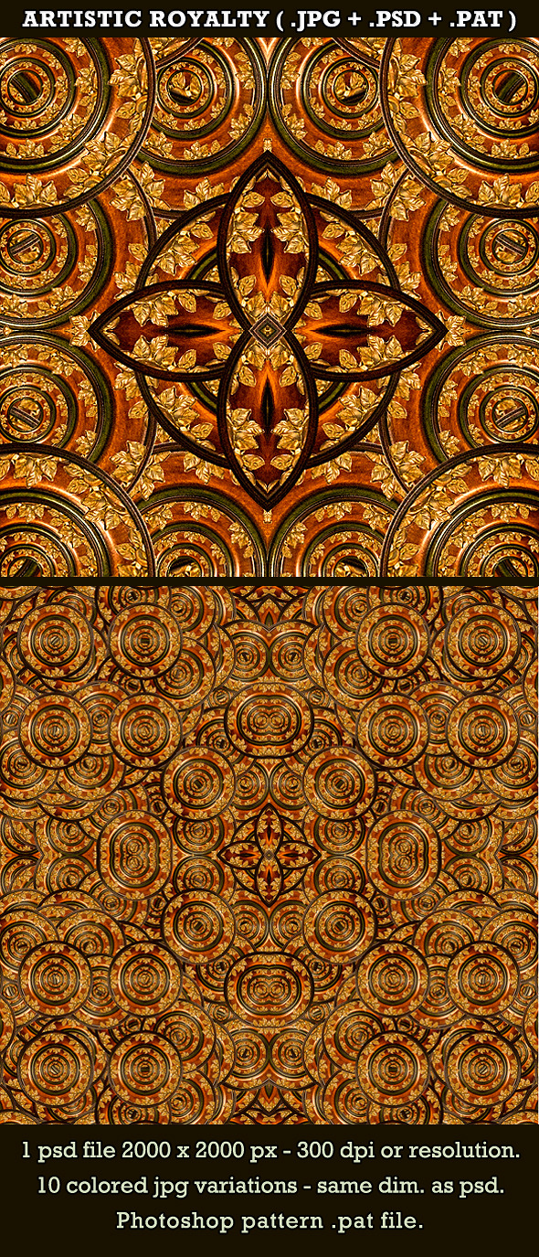 Artistic Royalty Background&Pattern - Artistic Textures / Fills / Patterns