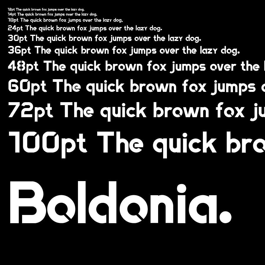 boldonia font