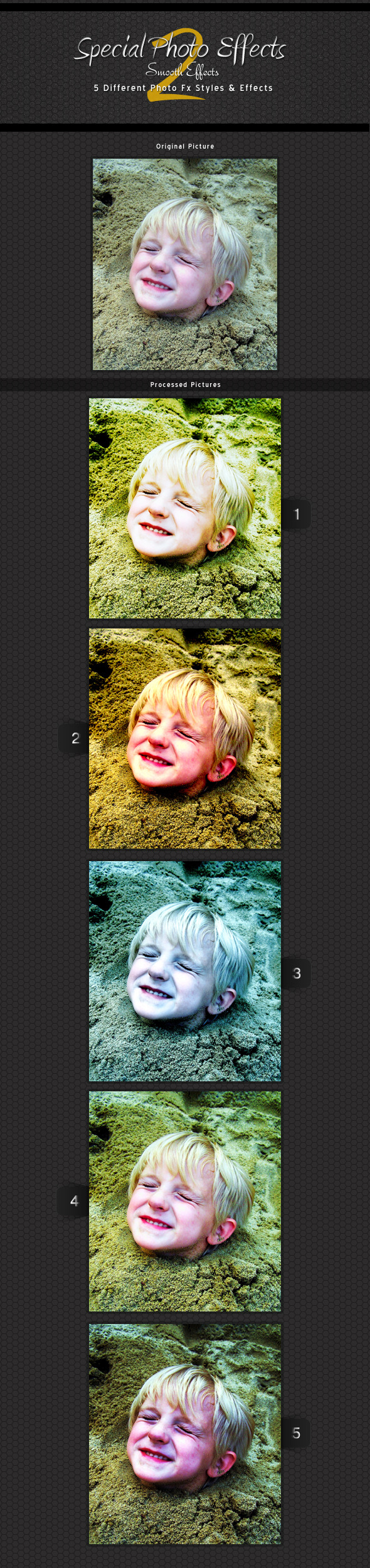 Special Photo Effects 2 - smooth Actions - Photo Effects Actions