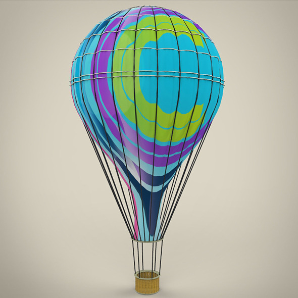 3DOcean Hot Air Balloon 8793394