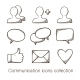 Communication Icons Collection. - GraphicRiver Item for Sale