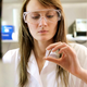 Woman scientist with eppendorf. - VideoHive Item for Sale