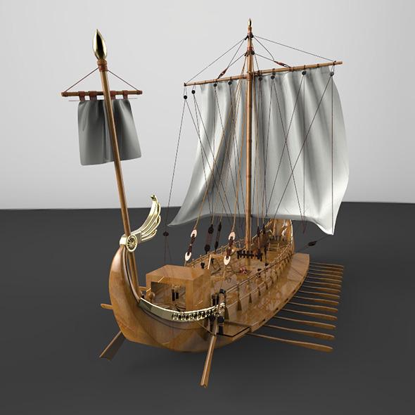 3DOcean Romany battleship 8793793