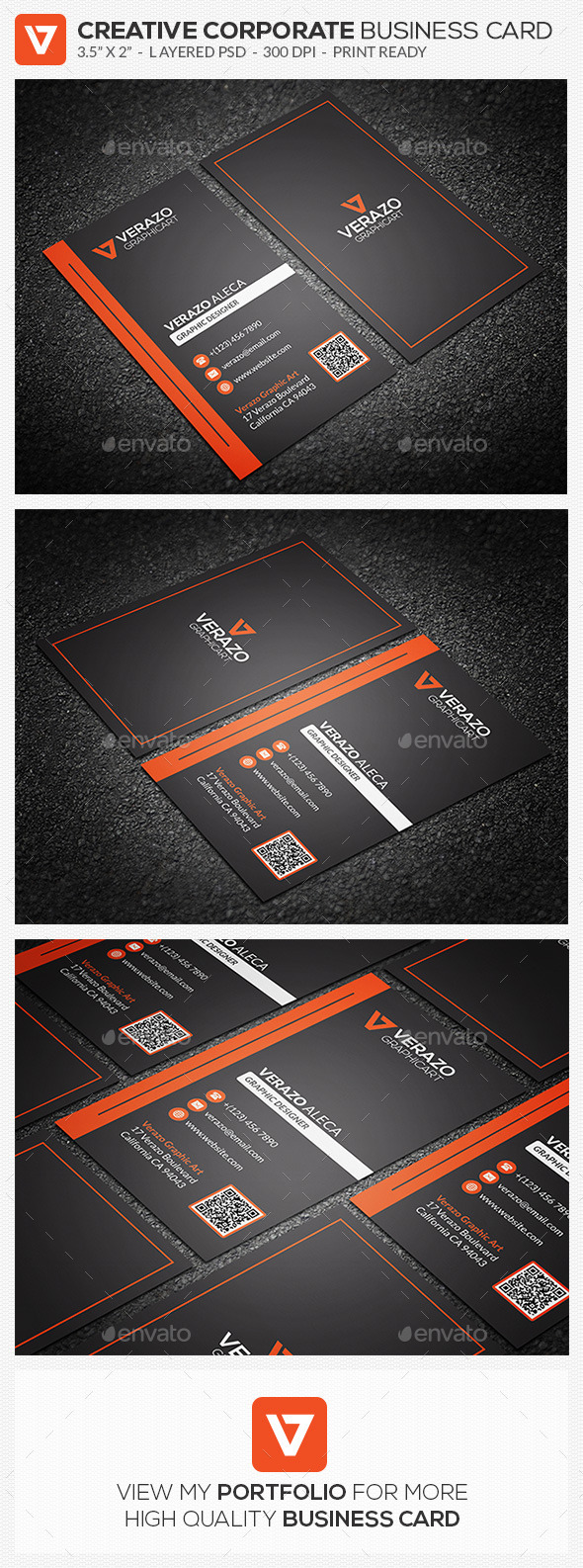 GraphicRiver Creative Modern Business Card 59 8793811
