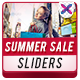 Summer Sale Sliders - GraphicRiver Item for Sale