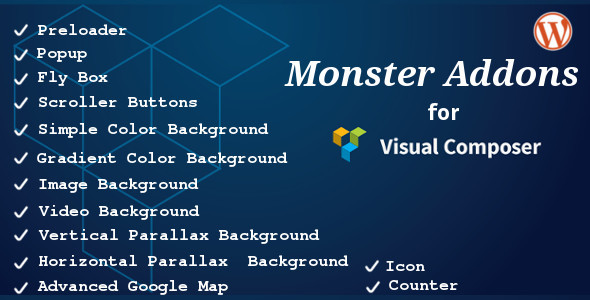 CodeCanyon Monster Addons for Visual Composer 8793981