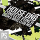 House Drum n Bass CD Artwork Template - GraphicRiver Item for Sale