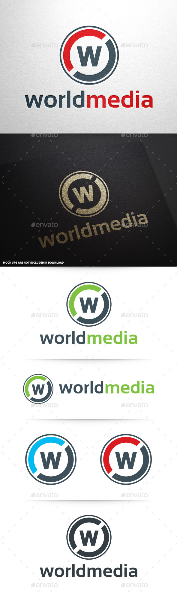 GraphicRiver Letter W Logo Template 8793988