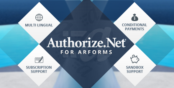 CodeCanyon Authorize.net for Arforms 8794248