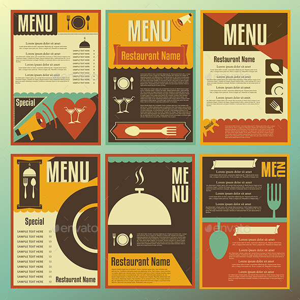 GraphicRiver Restaurant Menu Designs 8794326